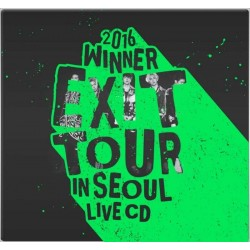 2016 WINNER EXIT TOURIN SEOUL LIVE CD (2CD) + 56p Photobook + Photocard + Poster