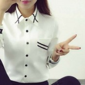 KOREAN SHIRT BLOUSE